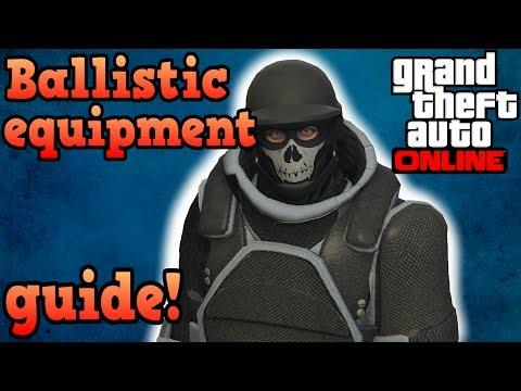 Gunrunning Ballistic equipment guide! - GTA Online
