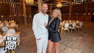 Paulina Gretzky gets cozy with Dustin Johnson ahead of Ryder Cup | New York Post