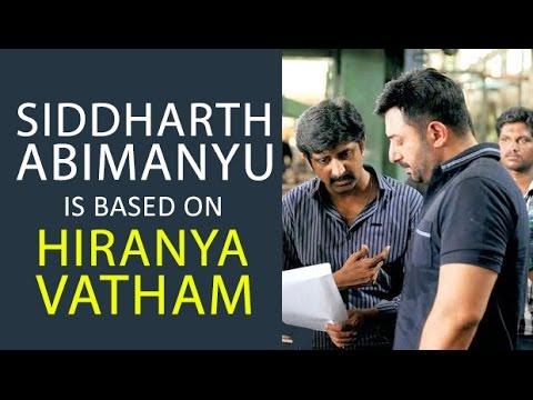 """Siddharth Abimanyu is based on Hiranya Vatham"" - Mohan Raja | BOFTA Masterclass - BW"