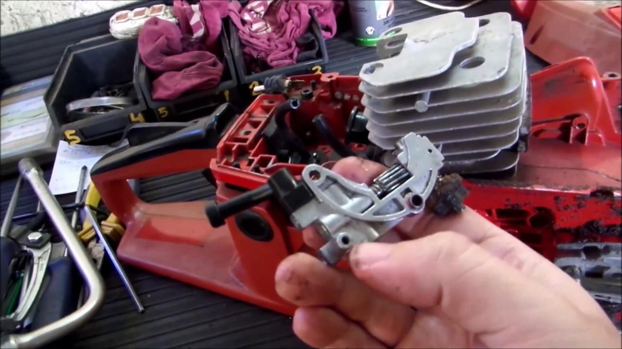 Motosserra Toyama MT53 - Revisão Completa - 1/4 - Desmontagem