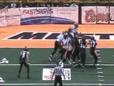 Luis Vasquez 2012 Mustang Football Highlight