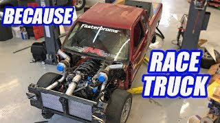 Caged and Confused! The Twin Turbo AWD V8 S10 Is Coming Together BEAUTIFULLY! Ep.13