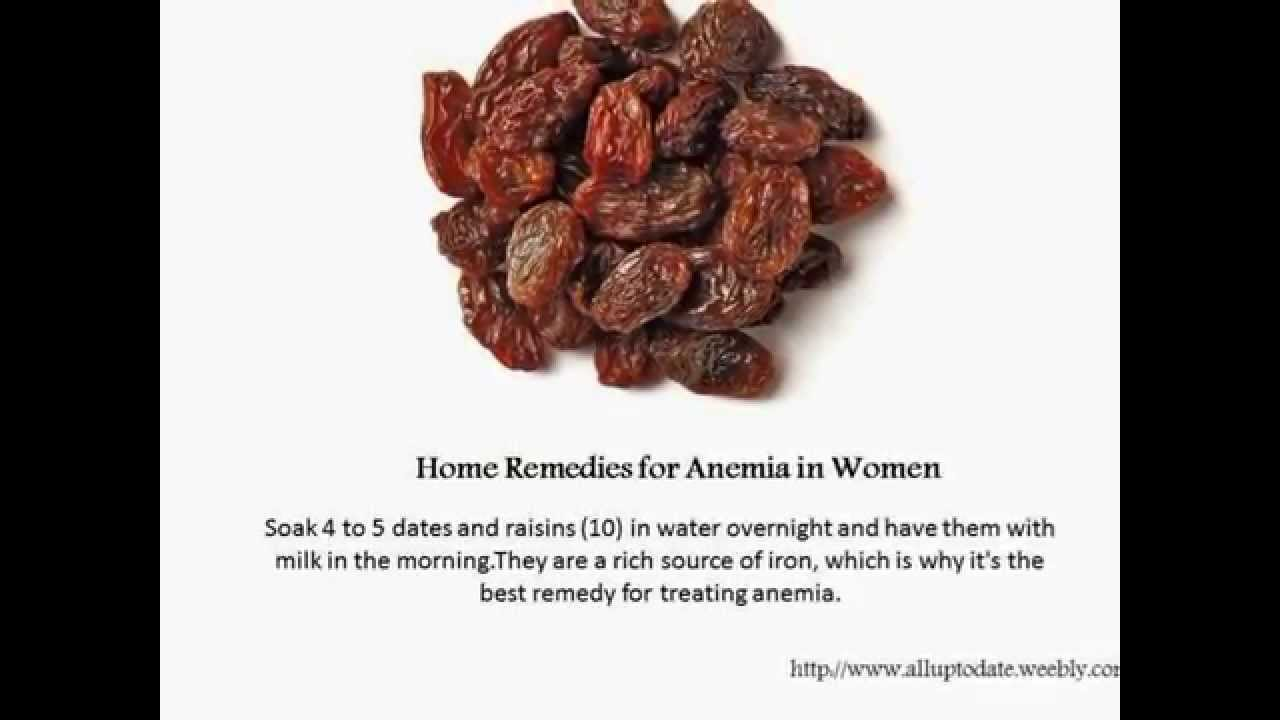 Whats the Best Treatment for Anemia