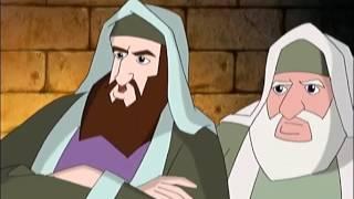 12  Les derniers jours de Jésus    gloiretv com   Dessins animés, histoire biblique