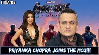 Avengers: Endgame Director Joe Russo has Confirmed Priyanka Chopra to be a part of the MCU