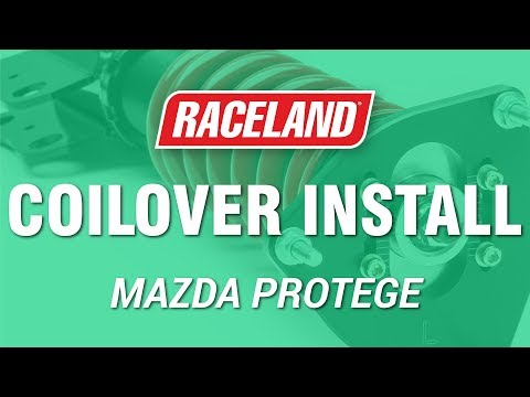 How To Install Raceland Mazda Protege Coilovers (1998-2003)