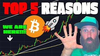 TOP 5 Reasons for BITCOIN BULL RUN!!! 🚀🚀🚀