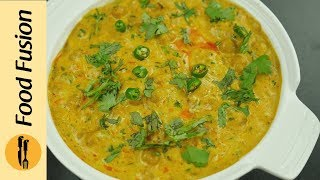 Creamy Cholay (Chickpeas)  Recipe By Food Fusion