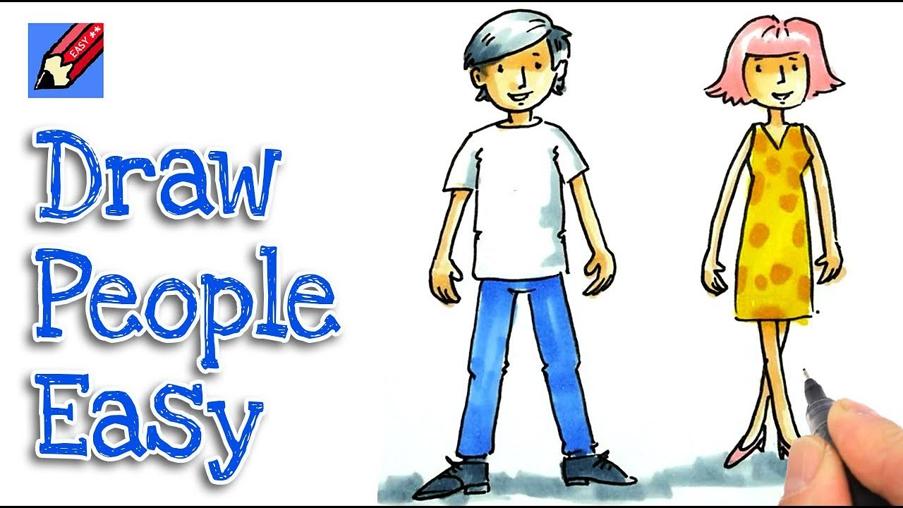 How To Draw People Easy