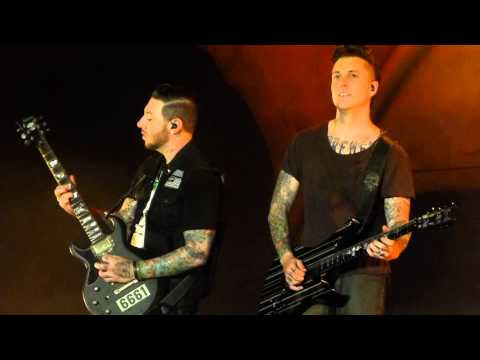 """Chapter Four"" Avenged Sevenfold@Sands Steel Stage Musikfest Bethlehem, PA 8/11/13"