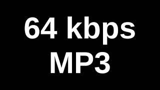 64 kbps: MP2 vs MP3 vs WMA vs OGG