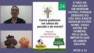 Catecismo para Crianças Pequenas - Pergunta 24