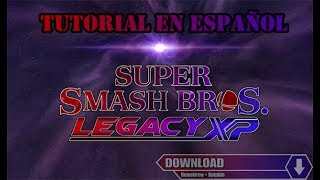 Como descargar y jugar Super Smash Bros Legacy XP para wii (método homebrew)