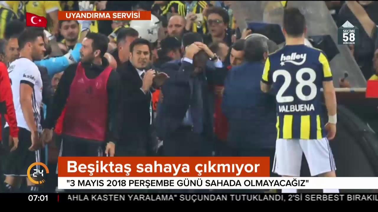Beşiktaş: Sahada olmayacağız