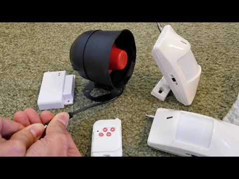 How To Program KERUI Wireless Security Alarm System Kit! 4 6 2019