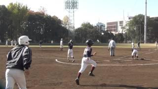 20141123 八王子桑都ボーイズ 8-2 町田ボーイズ(東京西)FULL