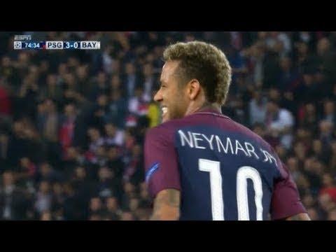 Neymar vs Bayern Munich ● (27/09/2017)...