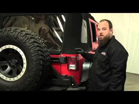 Anzo USA™ Jeep JK LED Tail Lights — Unboxing & Installation
