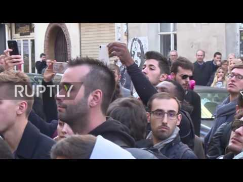 France: Fans await Scarlett Johansson arrival to open own shop