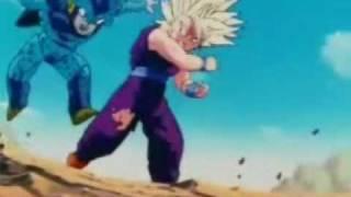 Super Saiyan 2 Gohan Destroys Cell Juniors