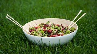 Рецепт живого салата «Зелёный живчик». МЕГА полезный и простой рецепт