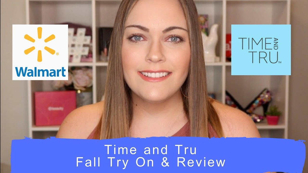 7f21354b98bccf Walmart ~ Time and Tru ~ Fall Try On   Review - YouTube