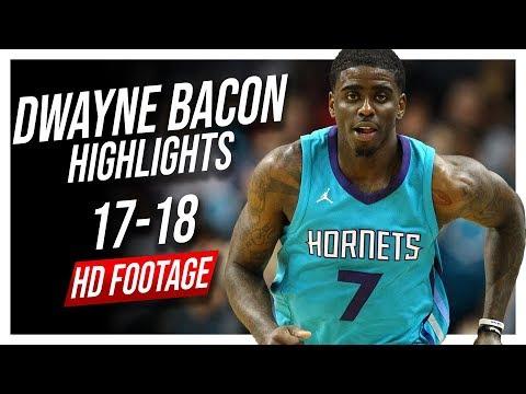 Hornets SG Dwayne Bacon 20172018 Season Highlights ᴴᴰ