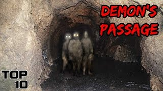 Top 10 Scary Tunnels That People Never Returned From - Part 2
