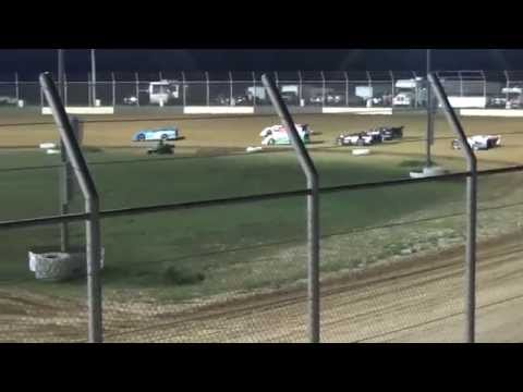 Outlaw Motor Speedway Late Model feature 6/19/15