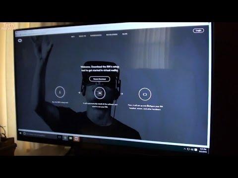 Oculus Rift: First Time Setup