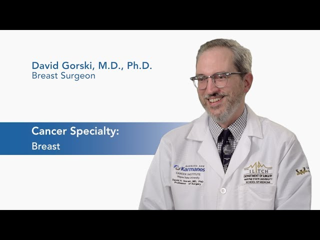 Meet Dr. David Gorski - Breast Surgeon video thumbnail