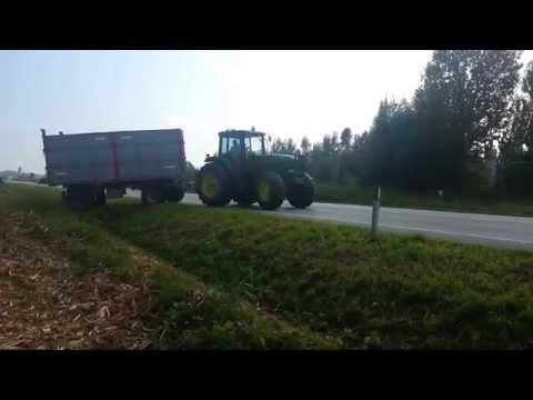 Campagna trebbiatura mais 2014 Az.Agricola Fiorin Adriano