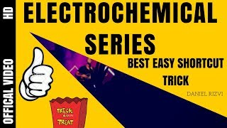 trick to remember electrochemical series