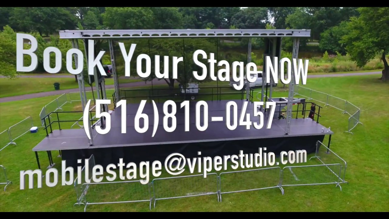 VIPER STUDIOS MOBILE STAGE RENTAL VIDEO