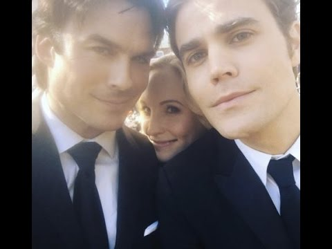 The Vampire Diaries Cast Shares Photos From Final Days on Set