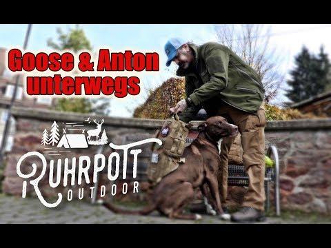Anton & Goose in den Klippen - 4K - Ruhrpott Outdoor
