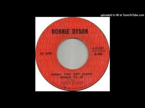 Ronnie Dyson - When You Get RightDown To It - 1971