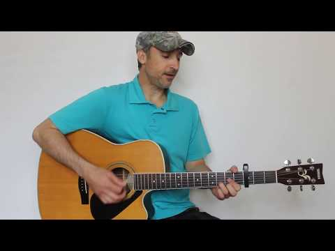 Straight To Hell - Darius Rucker - Guitar Lesson | Tutorial