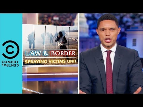 Migrants Get Tear Gassed At The US Border | The Daily Show With Trevor Noah thumbnail
