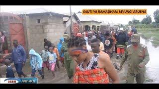 Hali ilivyokuwa Arusha baada ya mvua kubwa kunyesha kwa saa nane