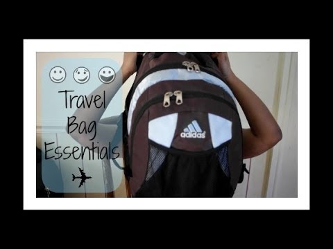 What's In My Bag?: My Travel Bag Essentials! ✈ FLORIDA EDITION