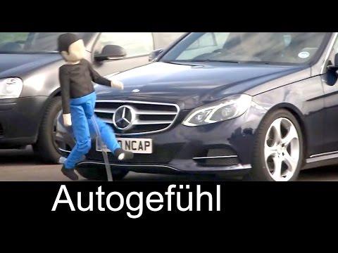 Euro NCAP New Pedestrian Safety Tests With Autonomous Braking Assistant - Autogefühl