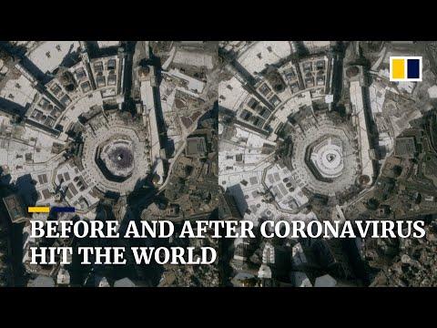 Satellite Images Show World Sites Deserted Amid Coronavirus Pandemic