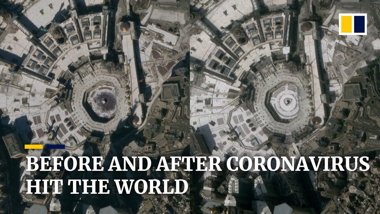 Satellite Images Show World Sites Deserted Amid Coronavirus