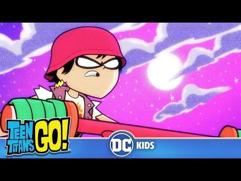 Teen Titans Go! KARAOKE | Crane Kick | DC Kids
