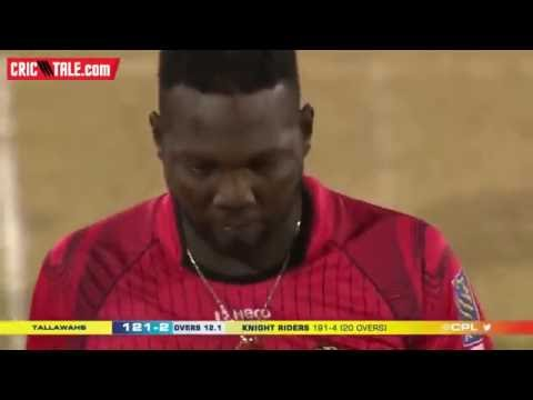 Chris Gayle 27 Runs in 1 Over to Suleman Benn  hd