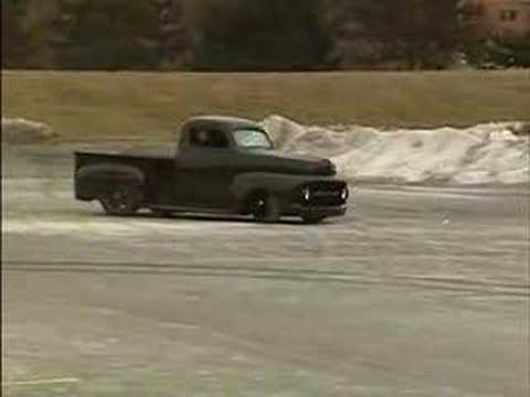 1951 Ford F-1 Pickup with 625HP Ford V8 Does Some Nasty Burnouts