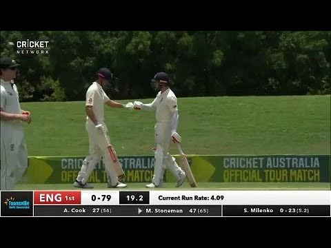 Day two highlights: CA XI v England