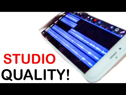 How To Record A Song ON YOUR iPHONE! 2017