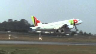 0649  Porto ● Take Off === ✈ Genève ● TAP Portugal Airbus A-319